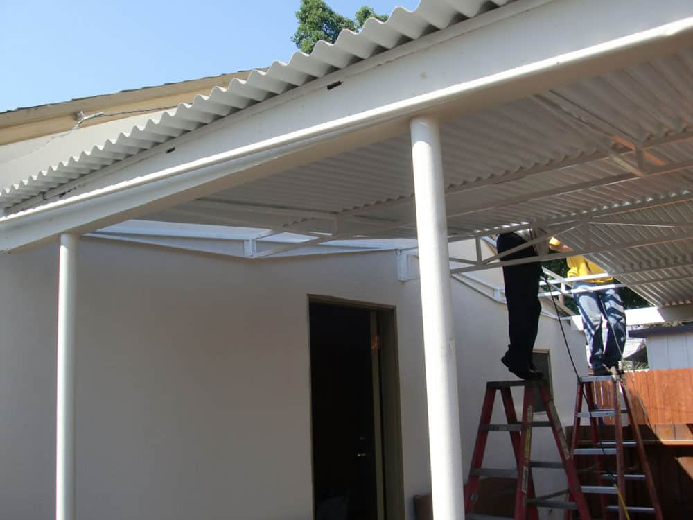 Sark Custom Awnings Metal Awning 21
